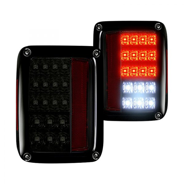 Recon® - Chrome/Smoke LED Tail Lights