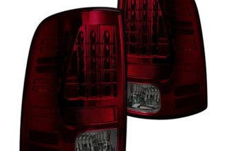 Recon® - Red/Smoke LED Tail Lights