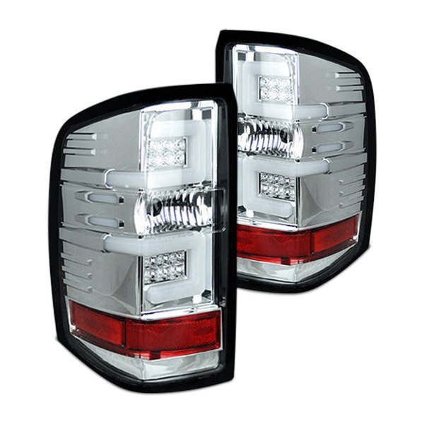 Recon® - Chrome Fiber Optic Tail Lights