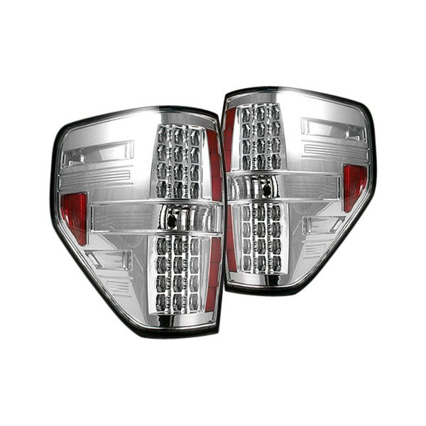 Recon® - LED Tail Lights with Clear Lenses