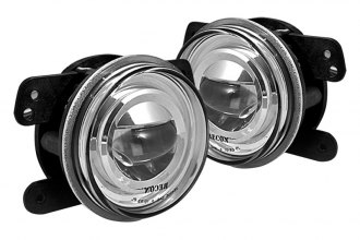 Recon® - Clear/Chrome LED Fog Lights