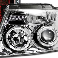 Recon® - Chrome Halo Projector Headlights