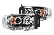 Recon® - Halo Projector Headlights with LEDs - 1500/2500/3500