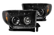 Recon® - Black Projector Headlights with LEDs