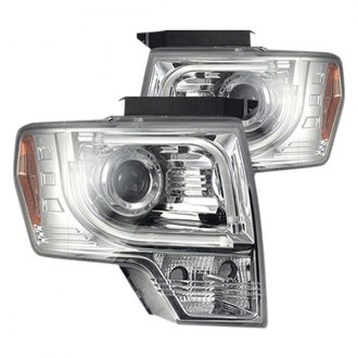 Recon® - Chrome Projector Headlights