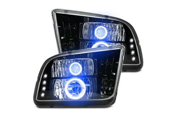 Headlights with LEDs