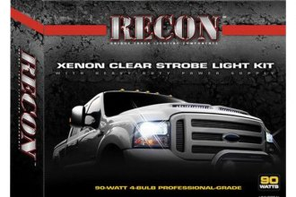 Recon® - Strobe Light Kit with 6-Port Heavy-Duty Plug-N-Play Power Supply