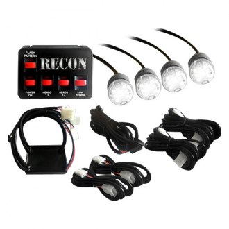 Recon® - LED Strobe Light Kit with 4 Bulbs