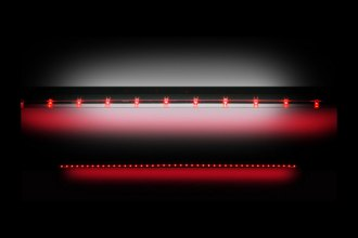 "Recon® 26411 - 60"" Red LED Tailgate Bar"