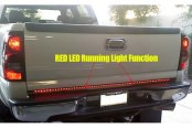 Recon® - White and Red LED Tailgate Bar