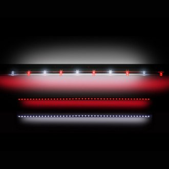 "Recon® - 49"" Red and White LED Tailgate Bar"