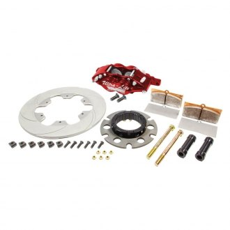 Red Devil® - Feather Lite Series Slotted Rear Brake Kit