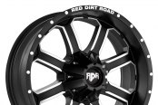 RED DIRT ROAD® - RD01 DIRT Satin Black with Machined Face