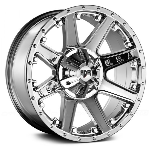 RED DIRT ROAD® - RD04 USA Chrome