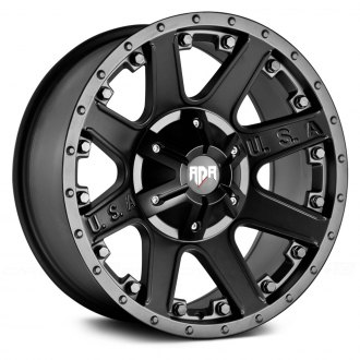 RED DIRT ROAD® - RD04 USA Satin Black