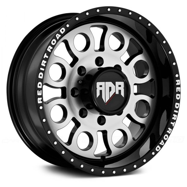 RED DIRT ROAD® - RD05 BOSS Satin Black with Machined Face