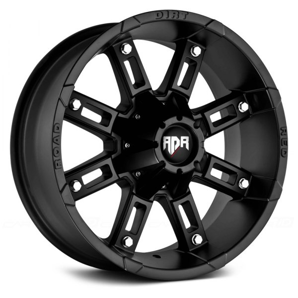 RED DIRT ROAD® - RD06 THUNDER Satin Black