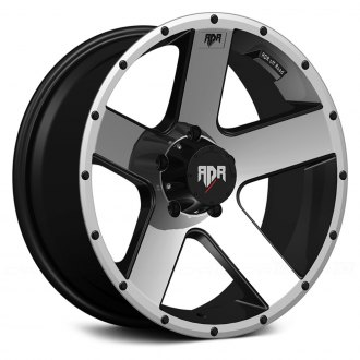 RED DIRT ROAD® - RD07 RIOT Satin Black with Machined Face