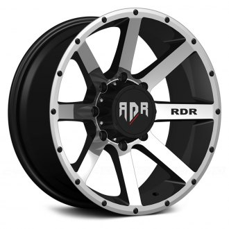 RED DIRT ROAD® - RD08 KRAWLER Satin Black with Machined Face