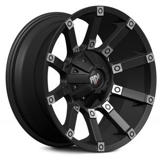RED DIRT ROAD® - RD09 DIGGER Satin Black with Machined Face