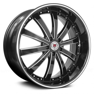 RED SPORT® - RSW77 Black with Machined Accents and Stripe