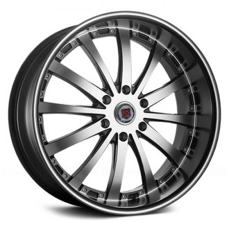 RED SPORT® - RSW77B Flat Black with Machined Face and Stripe