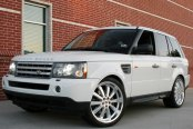 REDBOURNE® - DUKE Silver with Mirror Cut Lip on Land Rover Range Rover Sport