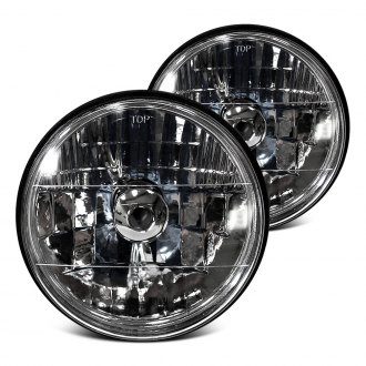 "RedLine LumTronix® - 5 3/4"" Round Chrome Diamond Headlights"