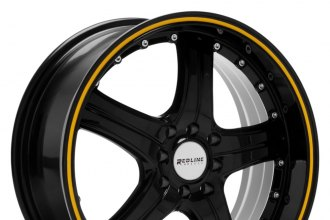 REDLINE® - RD110 Black with Yellow Stripe
