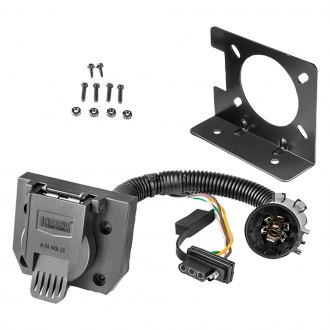 Reese Towpower® - 7-Way and 4-Way Towing Pre-Wired Combination Connector Kit