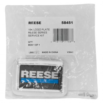 "Reese® - Titan Logo Plate for 2"" Receivers"