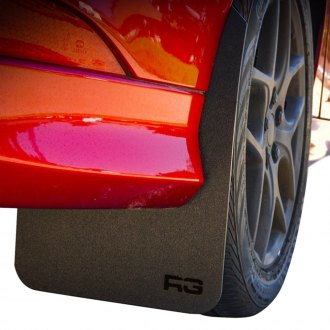 Rek Gen® - Rally Edition Custom Black Mud Flaps with RG Logo