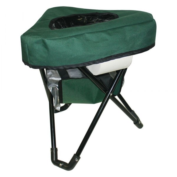 Reliance 9900 10 tri to go portable toilet camping chair - Camif commode ...