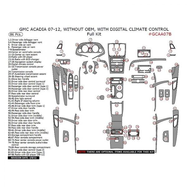 Remin® - Full Dash Kit (86 Pcs)