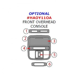 Remin® - Optional Front Overhead Console