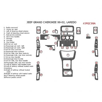 2002 Jeep Grand Cherokee Interior Accessories