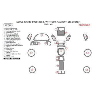 Remin® - Factory Match Main Dash Kit
