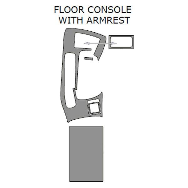Remin® - Floor Console Upgrade Kit (5 Pcs)