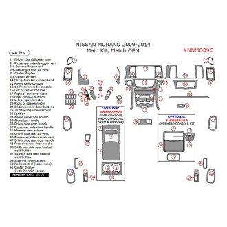 2012 Nissan Murano Interior Accessories