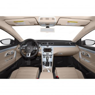 DashMat 1700-00-25 Black Dashboard Cover and Protector