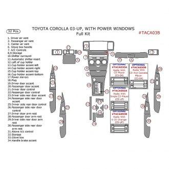 2004 toyota corolla interior accessories for Toyota corolla interior accessories