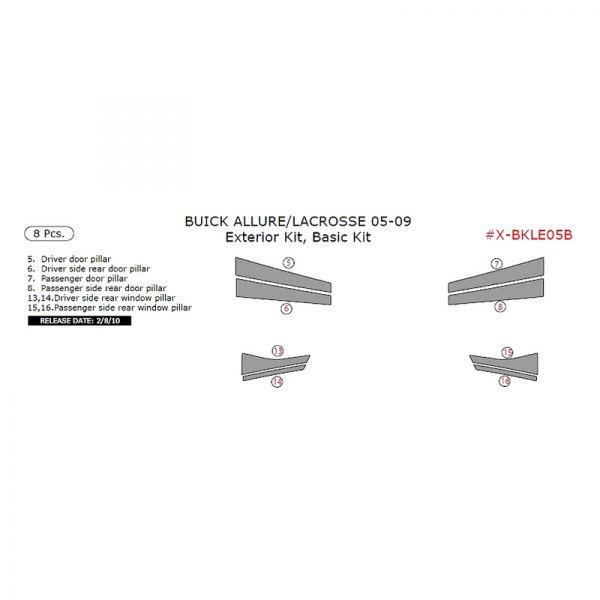 Remin® - Exterior Kit Basic Dash Kit (8 Pcs)