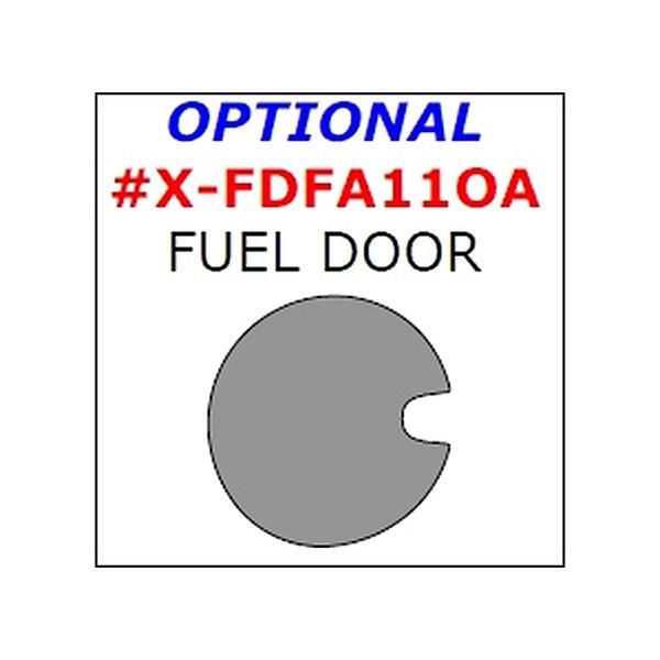 Remin® - Fuel Door Upgrade Trim (1 Pc)
