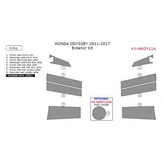 Honda Odyssey 2011-2017 Brushed Suede Dash Board Cover Mat Black