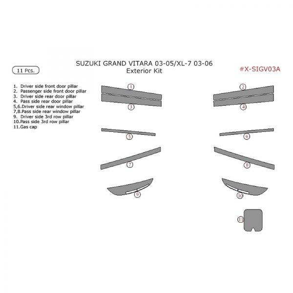 Remin® - Exterior Kit (11 Pcs)