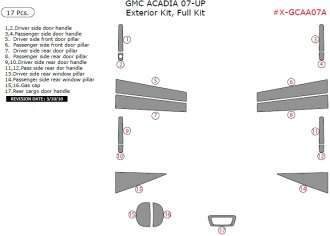 Remin® - Exterior Kit, Full Kit (17 pcs)