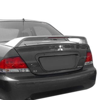 Remin® - Custom Style Rear Spoiler with Light (Unpainted)