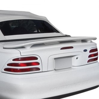 1995 ford mustang spoilers custom factory lip wing. Black Bedroom Furniture Sets. Home Design Ideas