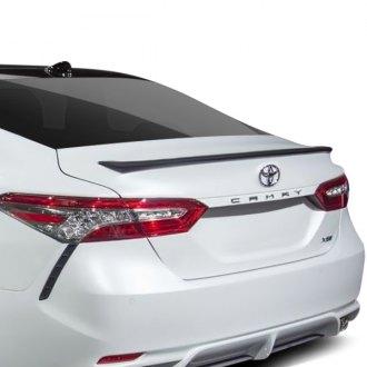 2019 Toyota Camry Spoilers Custom Factory Lip Wing Spoilers
