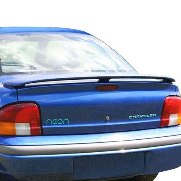 2000 Dodge Neon Interior: Dodge Neon 4 Doors 1999 Custom Style Rear Spoiler